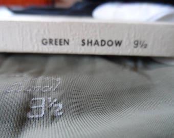 Stockings, Prestige Green Shadow stockings, hosiery.