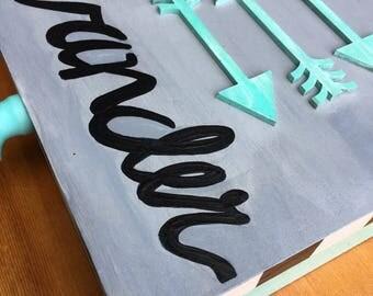 Arrow Keepsake Box, Wander, Inspirational, Organization, Storage