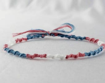 Transgender Pride Friendship Bracelet Chinese LGBT Jewelry