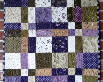 """Baby's First Quilt """"Meadow Flowers"""""""