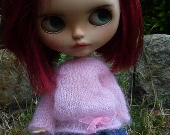 Bubble sweater for Blythe doll