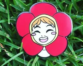 BTS Jhope Flower Pin!
