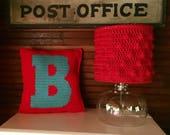 DIY Gift The Letter B Pillow DIY Pattern