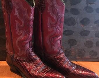 Cowboy boots women's size 7.5