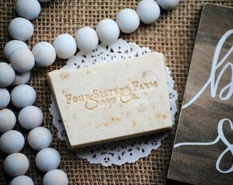 Handmade Soap, Tranquility Oatmeal Soap, Vegan