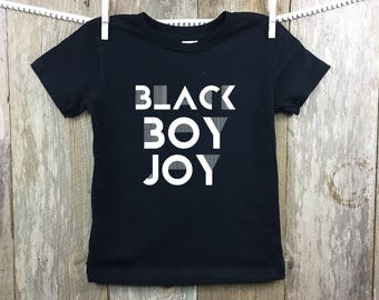 Black Boy Joy Onesie or T-Shirt