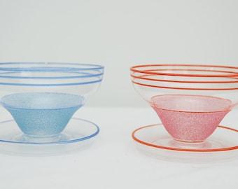 Pair of 1950s Ice Cream Bowls