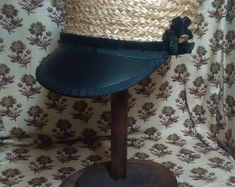 Boy's Civil War Era Straw Hat or Cap