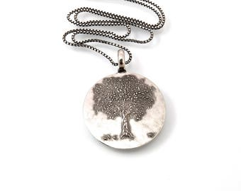 Sterling, Tree of Life, Necklace, 18, Tree Necklace, Tree of Life Jewelry, Round Tree of Life, Trees, Tree Jewelry, Tree, Round Tree, 1233