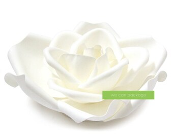 SALE! 13 Inch Artificial Rose Flower Head for Flower Wall Wedding Decorations