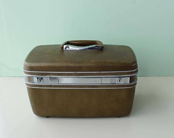 Samsonite Silhouette Train Case, Bronze