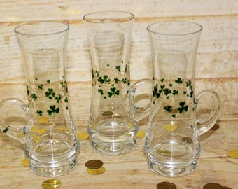 Delicate Handcrafted Irish coffee glasses