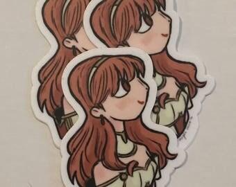 FE Echoes Celica Sticker