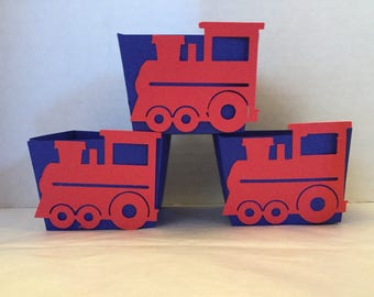 Cute Train Treat Cups  Set of 12