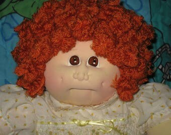 Cabbage Patch Little People Soft Sculpture Kid