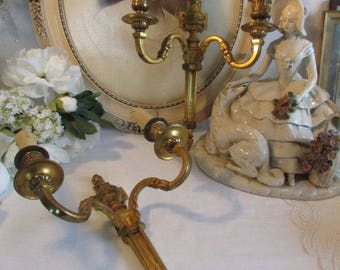 Beautiful pair of quality French sconce's, wall lights.  Paris charm, cottage chic