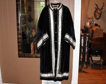 Antique Odd Fellows Robe Masonic Halloween Rennaissance Costume Wizard Robe