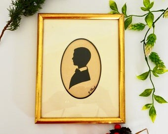 Framed Silhouette Picture- by Paul