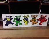 JRAD Grateful Bear bumper sticker