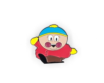 South Park / 20th Anniversary / Eric Cartman Soft Enamel Pin / Lapel Pin / Comedy Central / Backpack / Messenger Bag