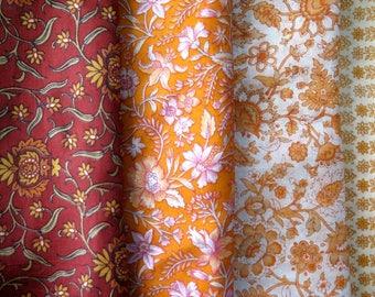 Fat Quarters, Silk Fabric, Sari Silk, FQ 193