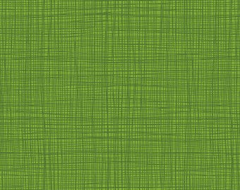 Linea - Linea in Green - Makower UK for Andover Fabrics - TP-1525-G - 1/2 yd