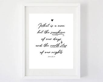 What is A Mom - Art Print