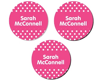 Iron-On Labels (2 Sizes), Dots