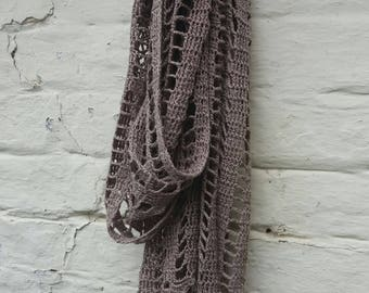 Linum Scarf - Fine Linen Scarf - Ready to Ship
