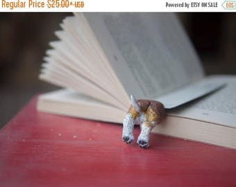 CHRISTMAS IN JULY -20% // Beagle bookmark // Dog bookmark unusual gift for animal lover // Back to school gift for student, teacher //