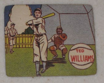 new just in  ted williams 1943 R302-1  M.P. & CO