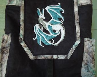 Custom Order for Laura - Dragon Backpack