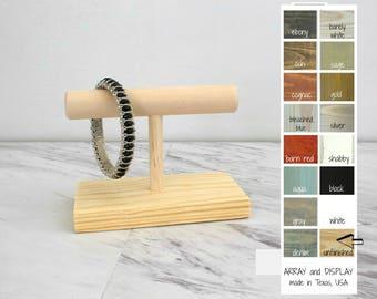 Wood Jewelry Displays, Yoga Bracelet Display, Trade Show Displays, Booth Displays, Craft Show Displays