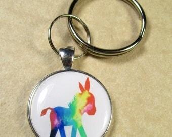 Donkey Keychain, Donkey Key Ring, Donkey Key Fob, Donkey Gifts, Burro Keychain, Burro Key Ring, Burro Key Fob, Donkey Gifts, Burro Gifts