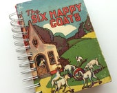 Mini Art Journal / Junk Journal / 30pc  Ephemera Pack / Smash Book / Pockets / Mid Century Book / Scrap Journal / Mixed Media / Glue Book
