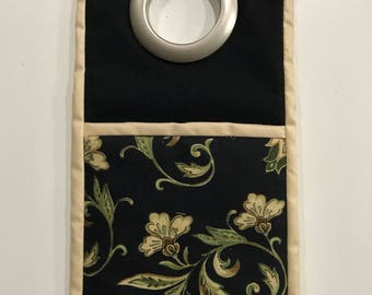 Handmade Cell phone charging pouch, charging station, docking station