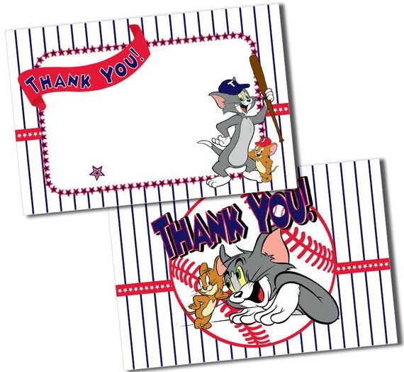 Tom And Jerry Birthday Invitations Free Printable