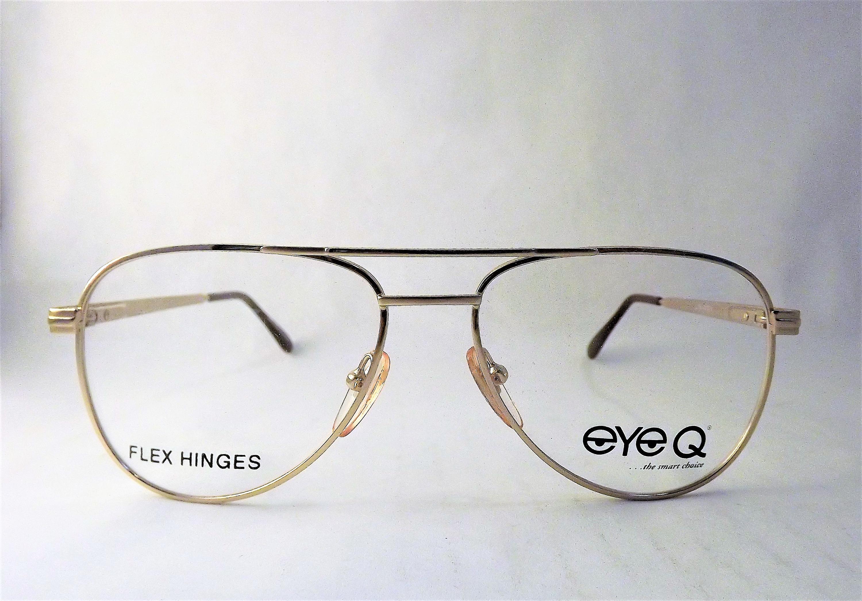 Aviator Eyeglasses, Mens Eyeglasses, Gold Eyeglasses, Vintage Wire ...