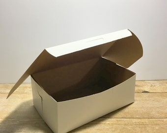 "Cookie, Bakery Box, Cookie Exchange Box, Bakery Box, 15 BOXES - 8"" x 5"" x 3"""