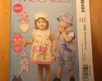 McCall's toddler clothes