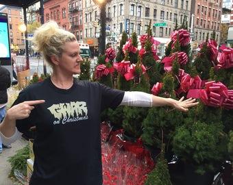 GWAR on Christmas shirts for Chris