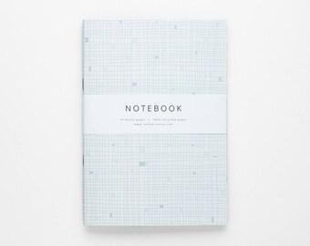 THE ZIRCONIA notebook A5 / pastel notebook / blank notebook