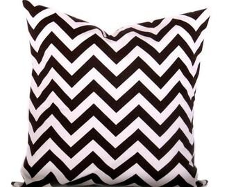 15% Off Sale Chevron pillow, Decorative Pillow, Brown pillow, Pillow cover, Brown Natural Cream, Accent pillow, throw pillow, Modern Pillow