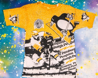 Pittsburgh PENGUINS Hockey  Sports TShirt Size M