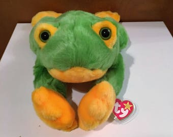 Smoochy the frog, Beanie Buddy.