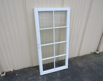 Handcrafted Antique Exterior True Divided Window Type A 50in x 24in Wood