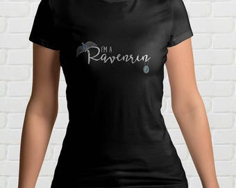 I'm A RAVENRIN Ladies T Shirt | Ravenclaw and Slytherin | Harry Potter Gift