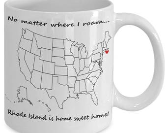 Rhode Island State Etsy - Where is rhode island