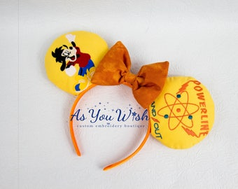 Goofy Movie Poweline Max Stand Out 95  inspired ears