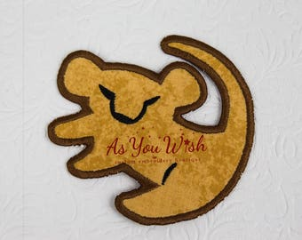 LIon King Simba cave drawing inspired iron on or sew on patch